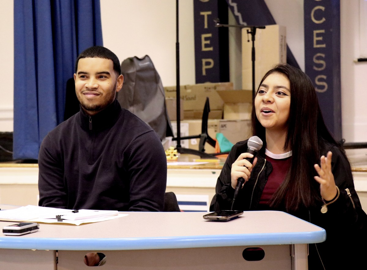 Giselle Martinez, NFA Class of 2016 now sophomore at Mount Saint Mary College describes her experience with HEOP at MSMC