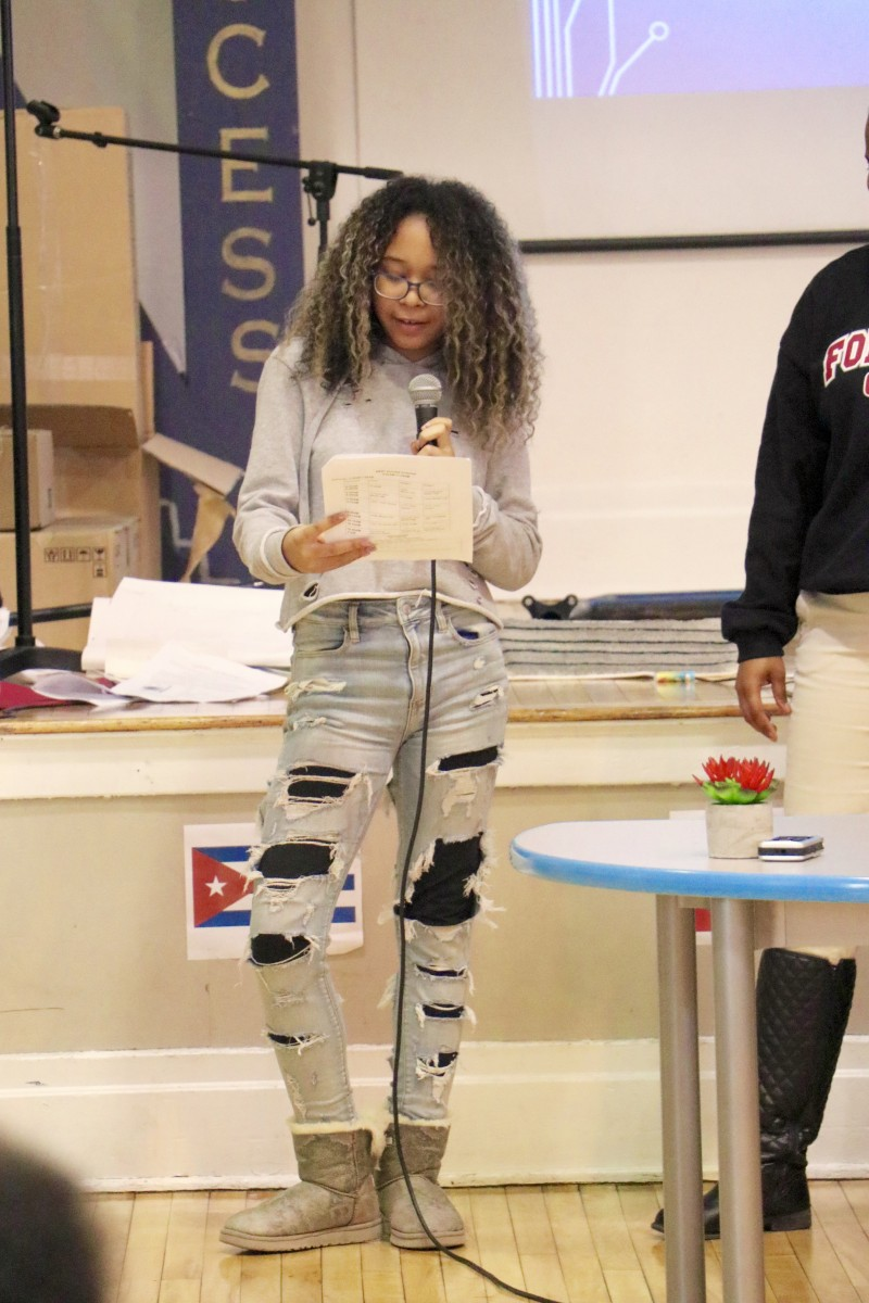 NFA West student introduces alumni