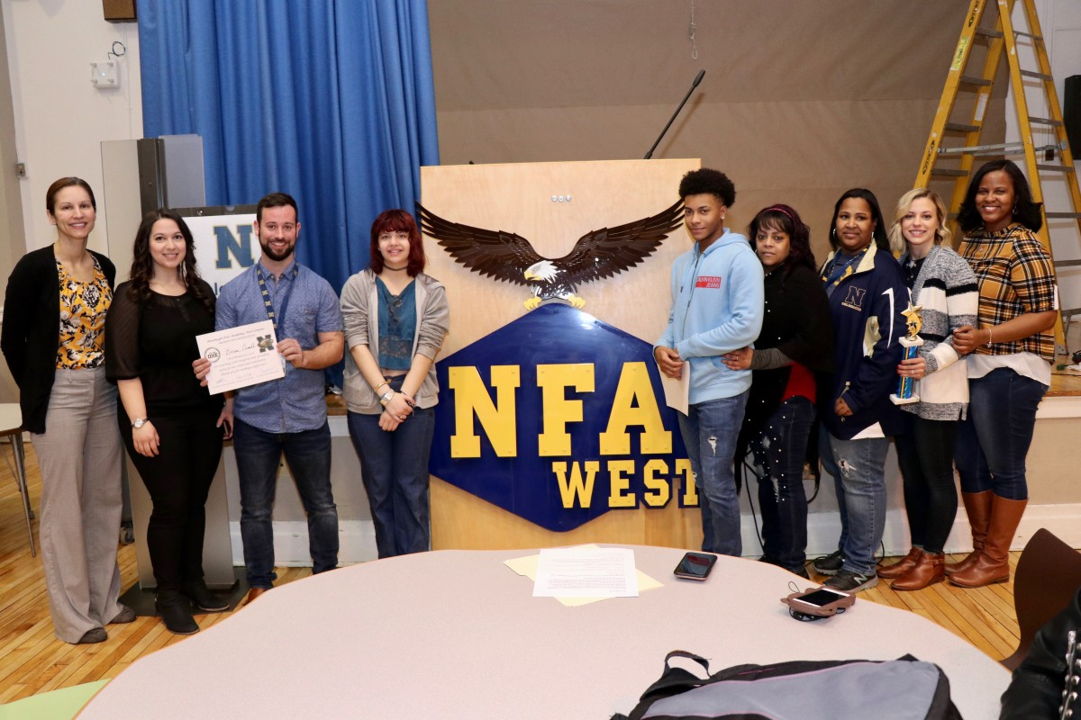 Thumbnail for NFA West Awards Students and Teachers for Improvement, Character, and Engagement