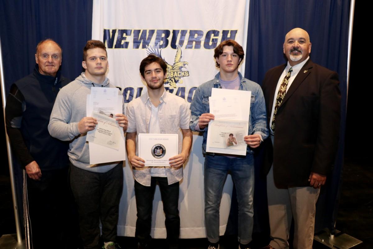 Thumbnail for Newburgh Free Academy, Main Campus Honors Members of NFA Wrestling Team