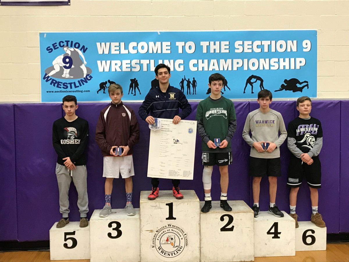 Greg Fischer is a 2018 Section 9 Champion!