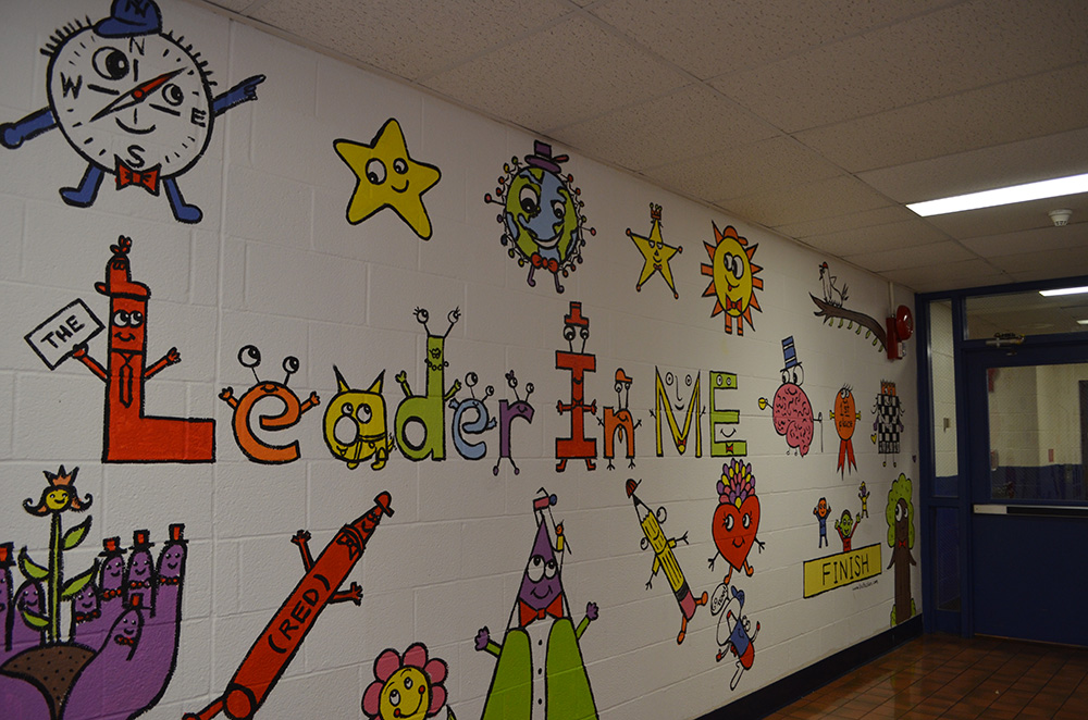 Mural at Fostertown School 1