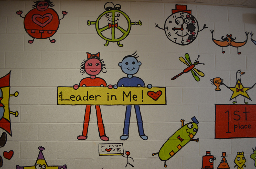 Mural at Fostertown School 2