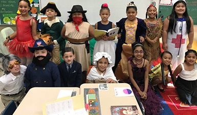 Thumbnail for Horizons Second Graders Host Living Wax Museum
