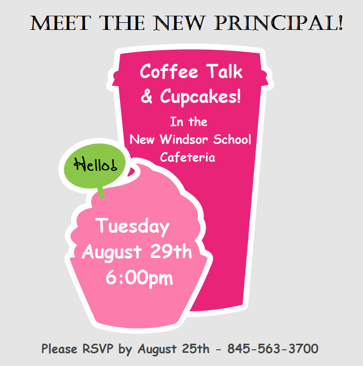 Coffee Talk with Principal Graphic