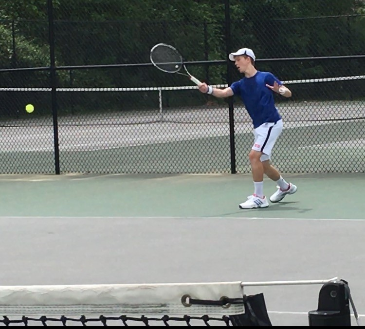 Jack Clayton, Varsity Tennis Player