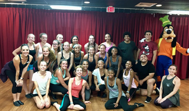 Thumbnail for NFA Dance Ensemble Travels to Disney for Ears for the Arts Series