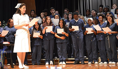 Thumbnail for NFA Nursing Students Graduation Recap