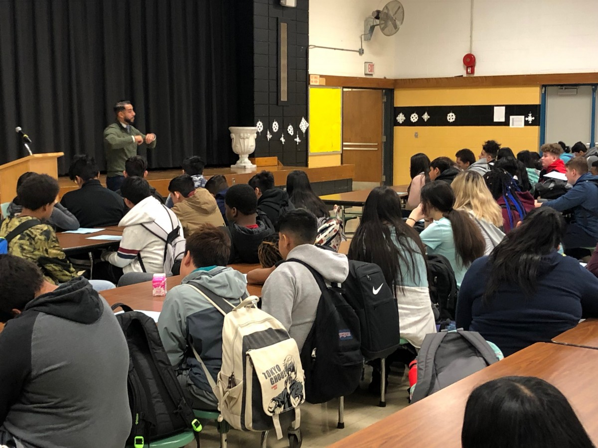 Thumbnail for Temple Hill 8th Graders Learn the Importance of College Preparedness