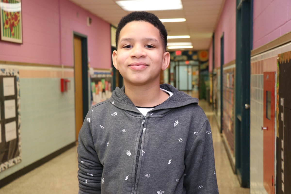 Jamir Jackson, 5th grade - My plan for the future is to make it to the NBA.  If I don't make it there I have a backup  plan and that is acting. I know it sounds crazy, Jamir Jackson, the one I know is an actor? Yes! That would be my backup plan. My plan to get there is to do one year of college basketball and make sure my grades are good so I can make it there. If I don't make it there I want to be an actor. I picked actor and basketball as my dream because I want to become famous so I can stand out to people. First I want to start on a television show, then a movie.  Principal Kafele inspired me to stay confident by the words he taught us. My favorite word that he taught us is focus. He said to stay focused on the right thing and not the wrong thing. To me it meant pay attention to what you're supposed to and don't get distracted. Staying focused is important to me because for my future you always need to be focused so you can know and understand your directions.  If I was an actor, I would have to be focused when they give me my script. If I were a basketball player, I would have to pay attention to my grades in college and pay attention to the basketball while I'm in game. I feel like My Brother's Keeper will help me be able to focus a little more on my future.