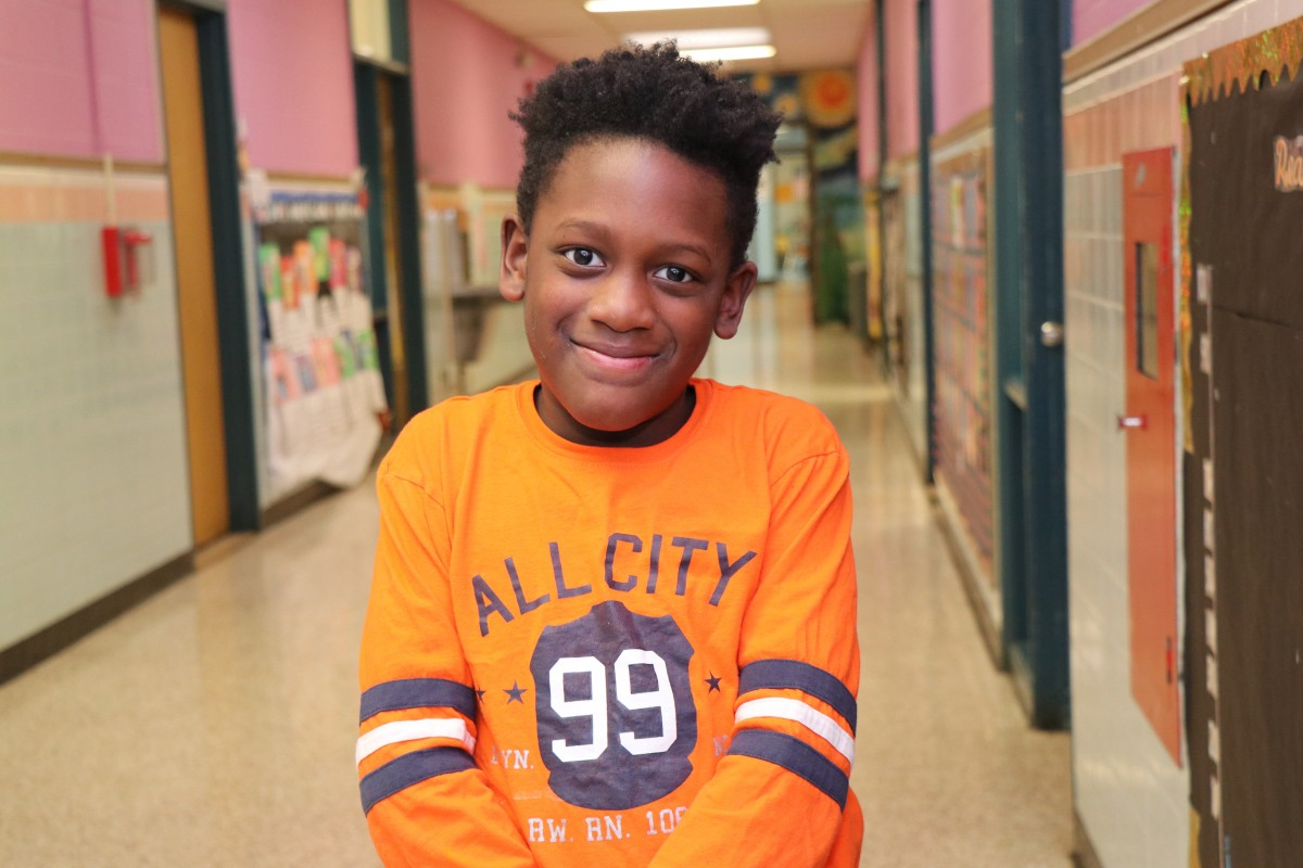 Taavon McNair, 3rd grade, Vails Gate STEAM Academy, Newburgh Enlarged City School District I want to be a police officer. I want to be a police officer because I want to put the bad people in jail for breaking the rules. I want to also help the good people stay safe from the bad guys. I want a big house that has two floors, I want one room for myself in the second floor and the living room in the first floor. I want my friends to visit me. I want to be a nice policeman that treats everyone nicely because I learned that in My Brother's Keeper program we are all brothers and should be respectful to each other. I see my future to be amazing.