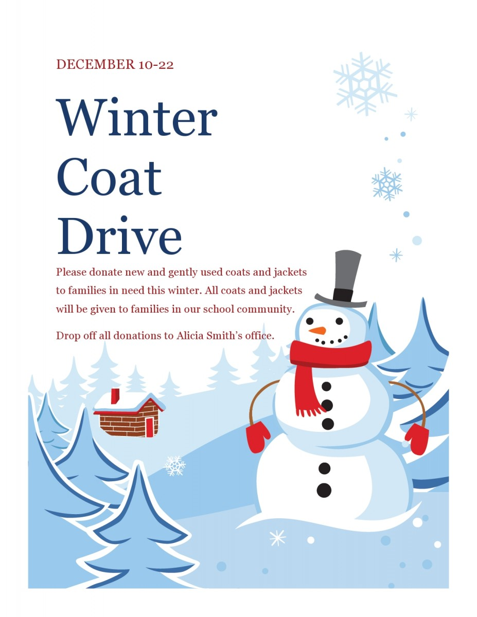 Thumbnail for Meadow Hill is Hosting a Winter Coat Drive
