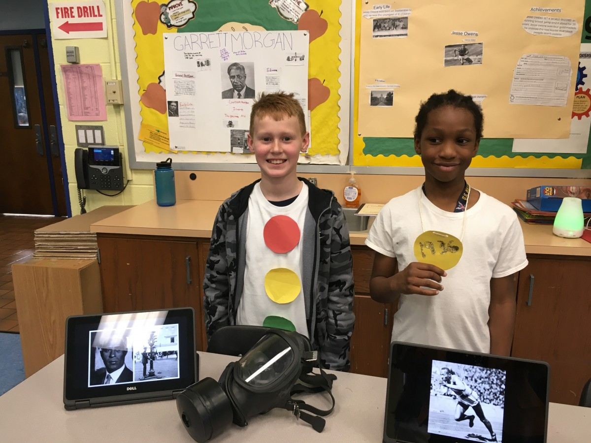 Thumbnail for Vails Gate STEAM Academy Scholars Create Living Museum For Black History Month