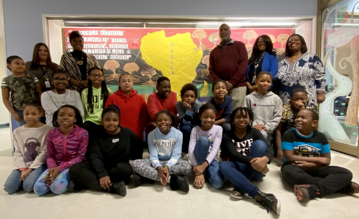Thumbnail for Balmville Be A STAR and MBK Scholars Create Showcase Window for Black History Month