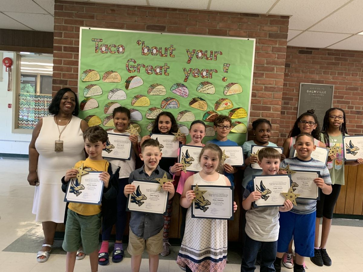 Thumbnail for Balmville School Scholars Achieve Perfect Attendance for 2018-2019