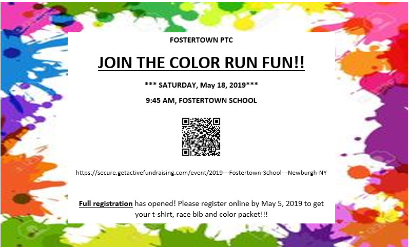 Fostertown Color Run