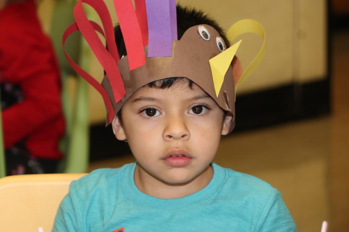 Pre-K Thanksgiving