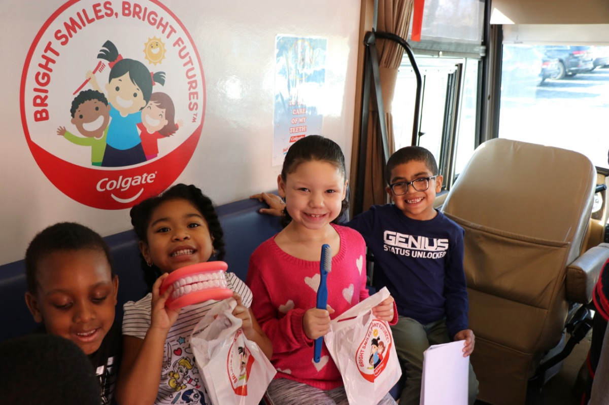 Thumbnail for The Colgate Bright Smiles Bright Futures Dental Van and Dr. Martin Visit Scholars at Horizons-on-the-Hudson