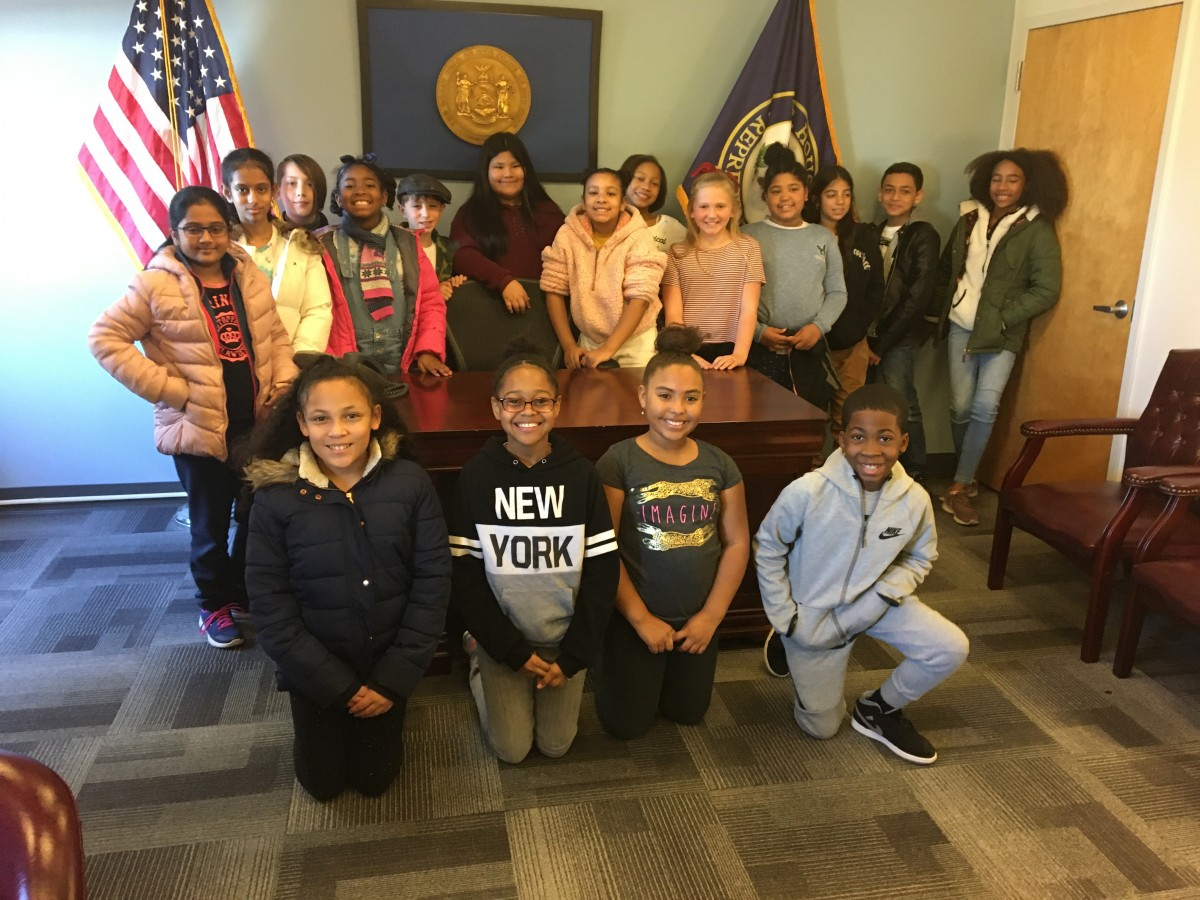 Thumbnail for Fifth grade HOH Students Visit Congressman Maloney's District Office