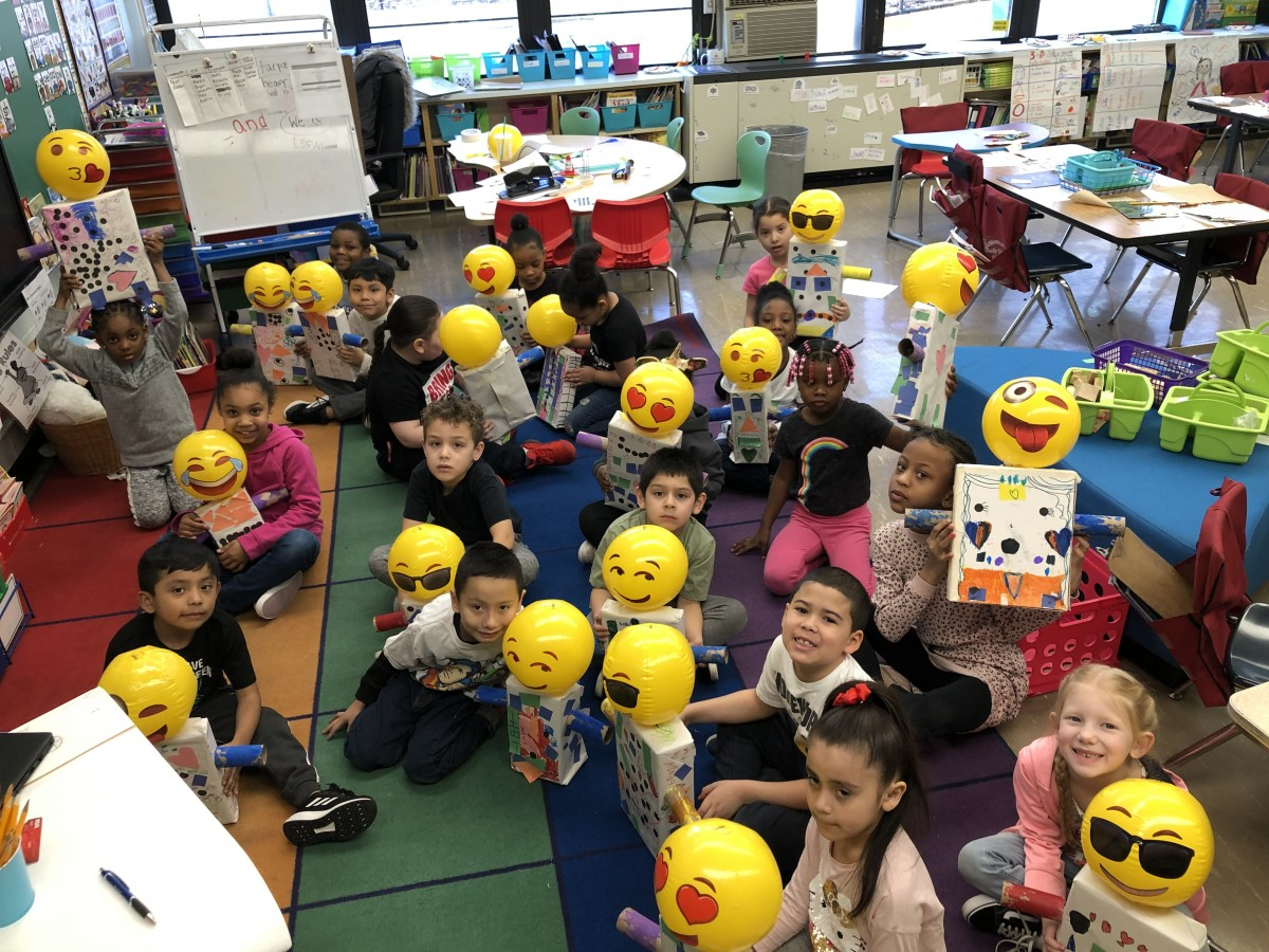 Thumbnail for Horizons-on-the-Hudson First Grade Scholars Use STEM and Math To Create 3-D Robots