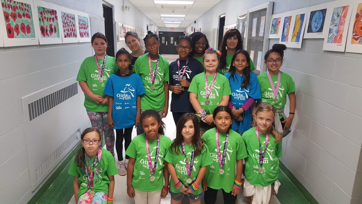 Thumbnail for The New Windsor School Girls on the Run Team Successfully Complete 10 Week Program