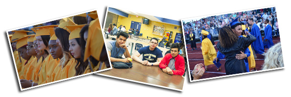 Collage of Student Graduation Photos